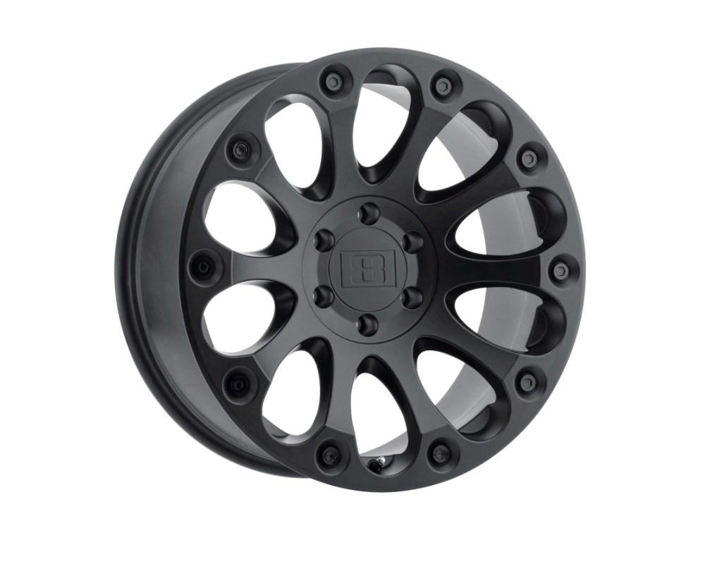 Level 8 Impact Wheel 17x8.5 5x135 -24mm Matte Black - 1785LIM-45135M87