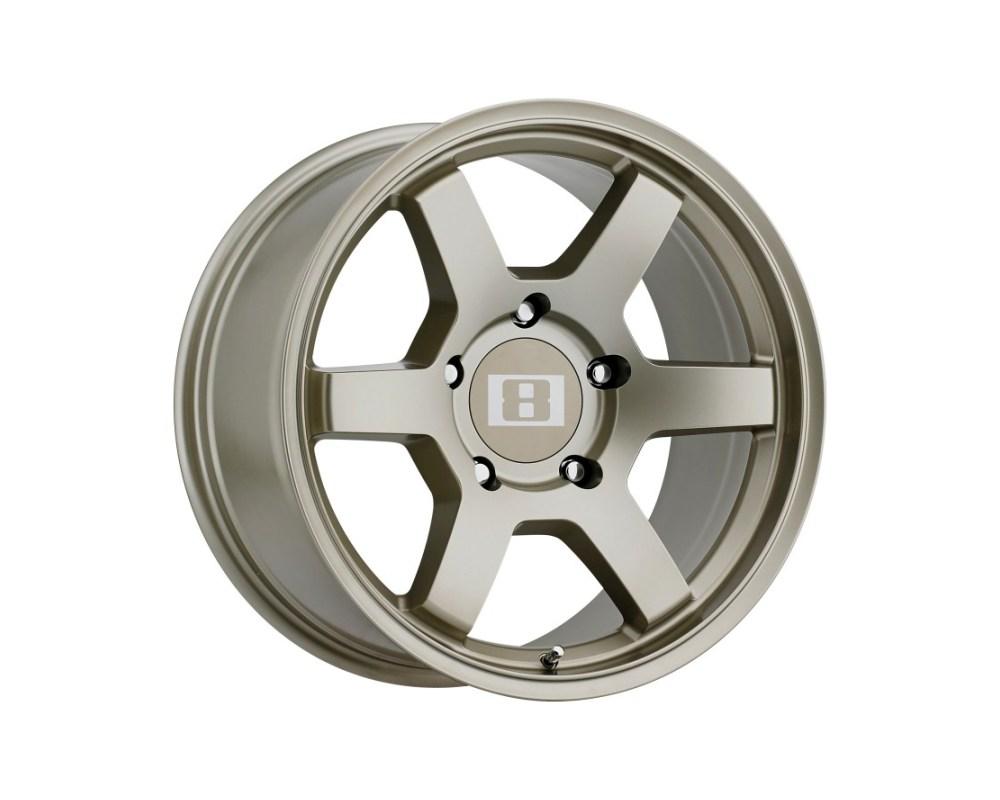 Level 8 MK6 Wheel 18x8 5x150 12mm Matte Bronze - 1890MK6125150Z10