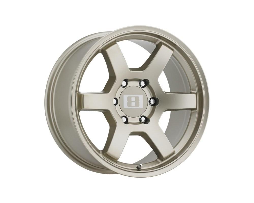 Level 8 MK6 Wheel 17x8 6x139.70|6x5.5 -10mm Matte Bronze - 1780MK6-16140Z06