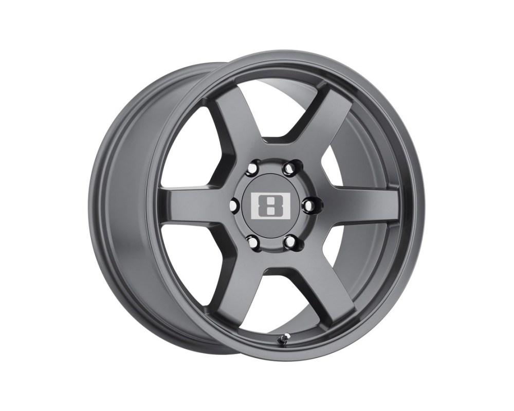 Level 8 MK6 Wheel 17x9 6x139.70|6x5.5 0mm Gunmetal - 1790MK6006140G06