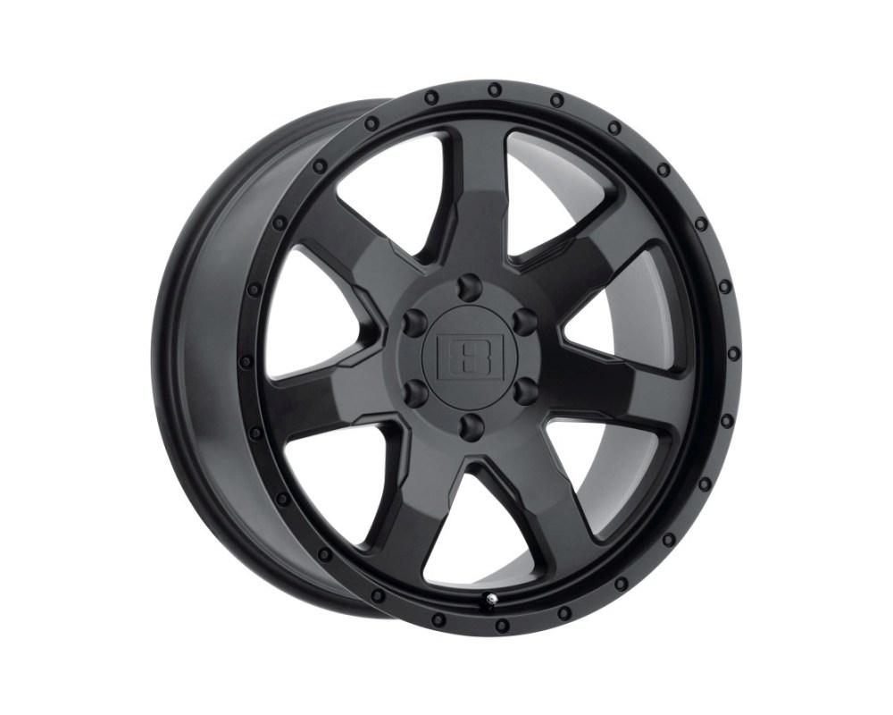 Level 8 Slam Wheel 18x9 6x120 9mm Matte Black - 1890SLM096120M67