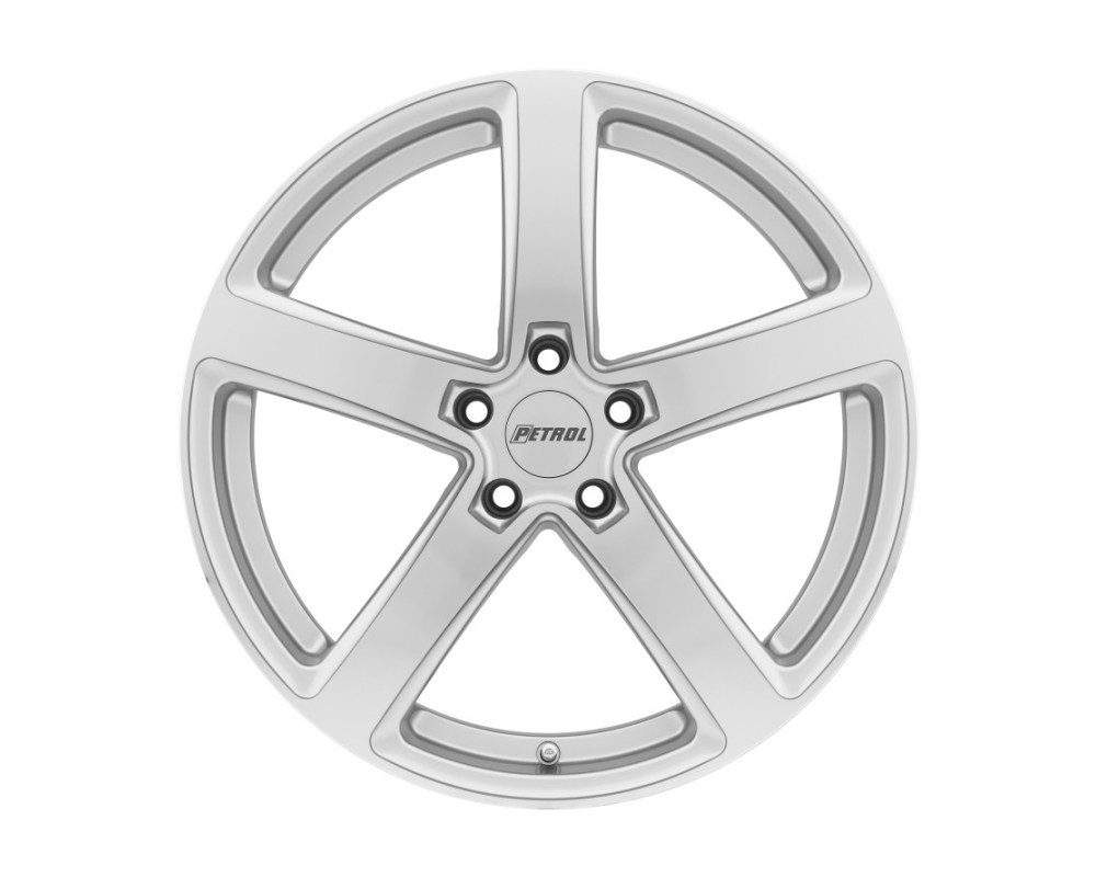 Petrol P2A Wheel 18x8 5x108|5x4.25 40mm Silver w/ Machined Cut Face - 1880P2A405108S72
