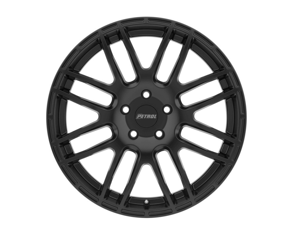 Petrol P6A Wheel 18x8 5x112 32mm Matte Black - 1880P6A325112M72