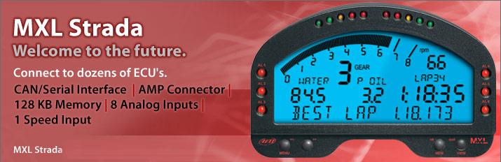 AiM Sports MXL Strada Digital Dash Display - AS-MXL-STRADA