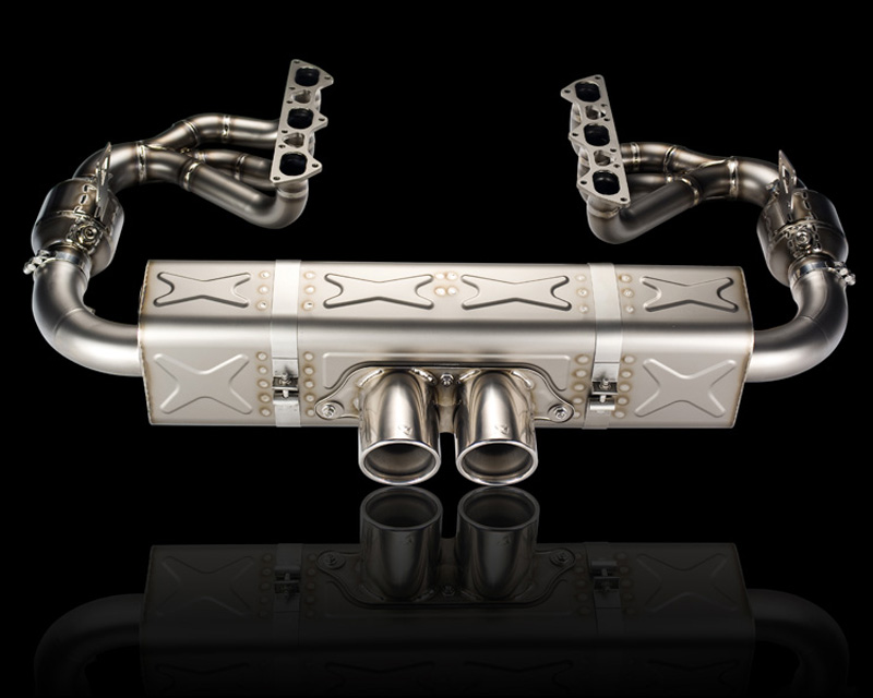 Akrapovic Titanium Evolution Race Exhaust System Porsche 997 GT3 07-09