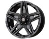 Image of American Outlaw Hollywood 17X8.5 5x127 -10mm Matte Black