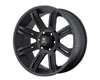 Image of American Outlaw Scorpion 17X8.5 6x135 10mm Matte Black