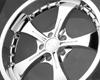 Image of ALT Wheels AT-326 Wraith Wheel 18x8.0 5x112 Chrome