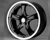Image of ALT Wheels AT-339 Masq Wheel 17x7.0 4x100