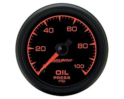 Image of Autometer 52.4mm Mechanical Oil Pressure Gauge