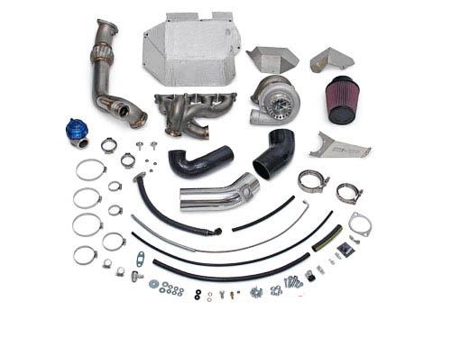 AMS Performance 950XP Billet V Band Turbo Kit with Vented Wastegate Provision Mitsubishi Evolution X 08-14 - AMS.04.14.0003-1