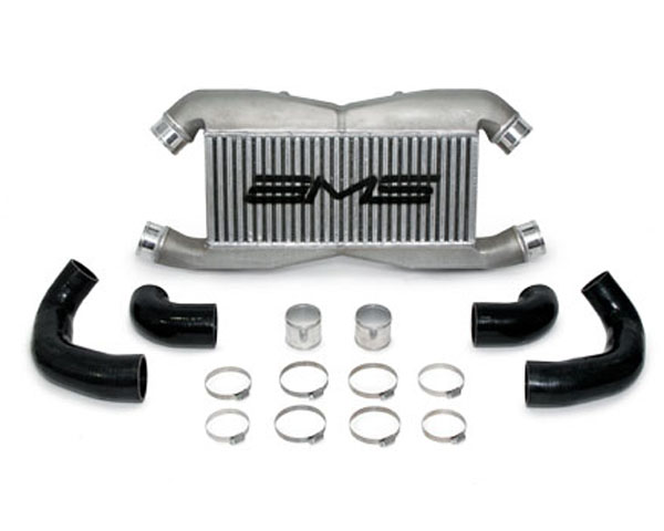 AMS Front Mount Intercooler with Logo for OEM Piping Nissan GT-R R35 09-20 - ALP.07.09.0007-1