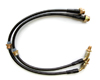 Image of Agency Power Front Steel Braided Brake Line Conversion 240SX to 300zx