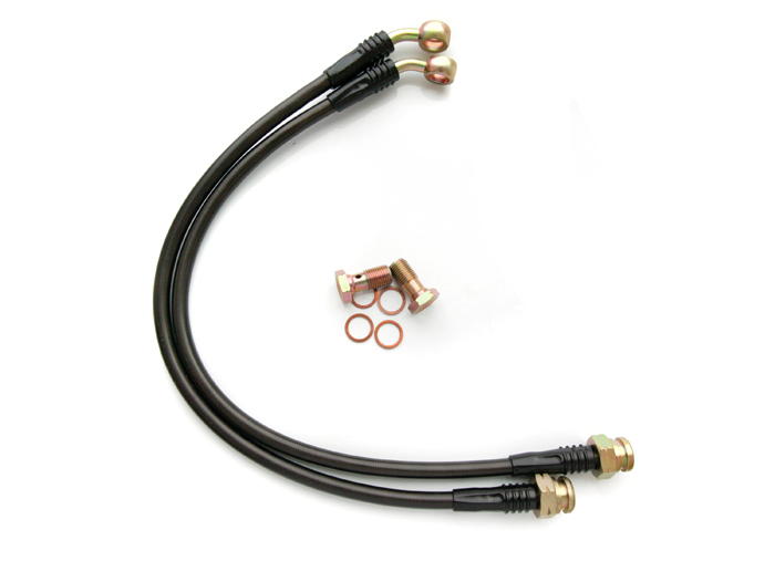 Agency Power Rear Brake Lines Chevrolet C6 Corvette
