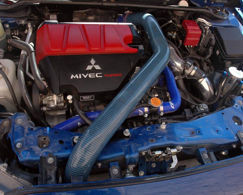 Agency Power 3in Carbon Fiber Top Intercooler Pipe Kit Mitsubishi EVO X 08+