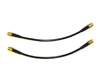 Image of Agency Power Front Steel Braided Brake Lines Audi A4 B6 B7 02-07