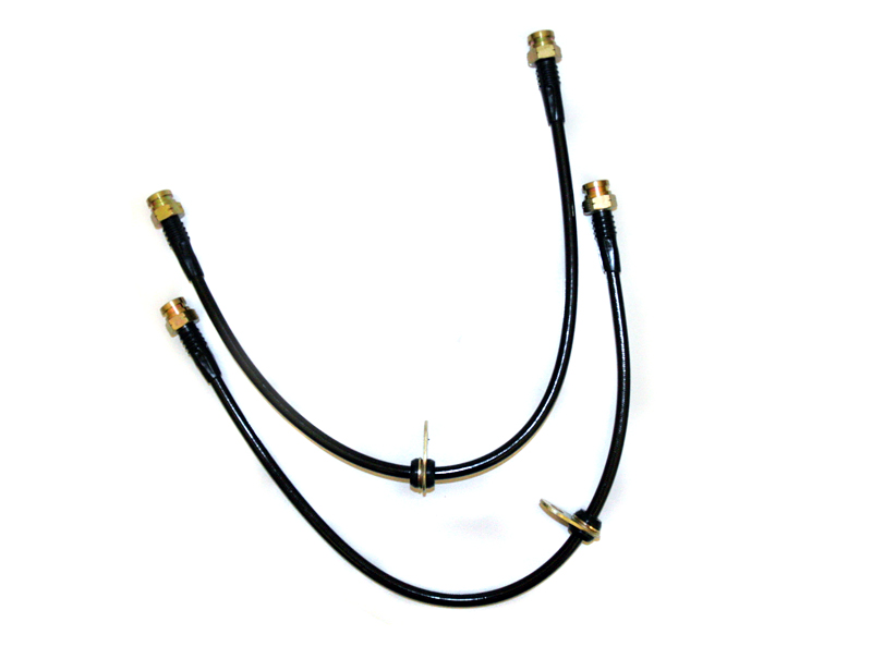 Agency Power Front Brake Lines Mitsubishi EVO X 08-12
