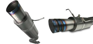ApexI N1 Titanium Exhaust Nissan 350Z