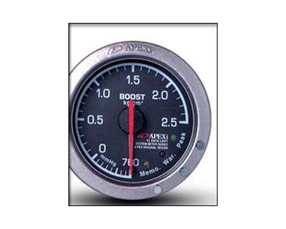 ApexI EL II Mechanical Boost KPA Gauge Black