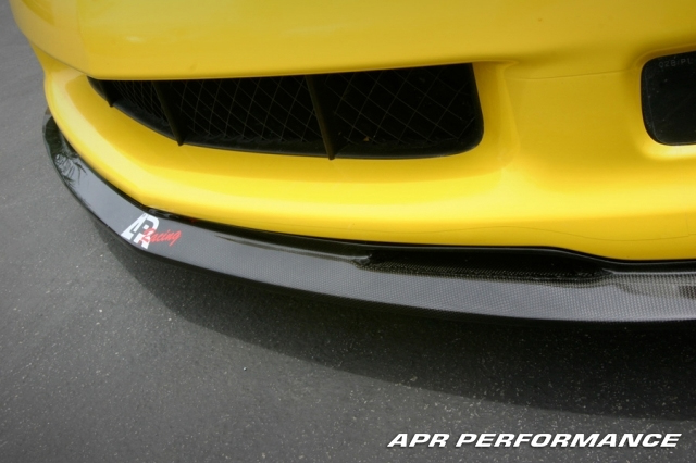APR Carbon Fiber Front Lip Chevrolet Corvette Z06 06-12 - FA-208006