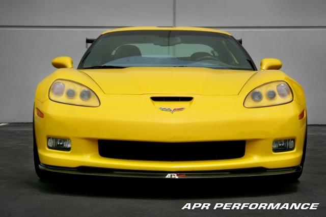 APR Carbon Fiber Front Lip Chevrolet Corvette C6 05-13 - FA-206006