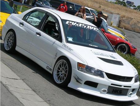 APR EVO IX Style Front Bumper w/ Lip Mitsubishi EVO VIII IX 03-08 - FFA-499006