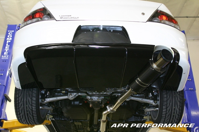 APR Carbon Fiber Rear Diffuser Mitsubishi EVO VIII IX 03-07