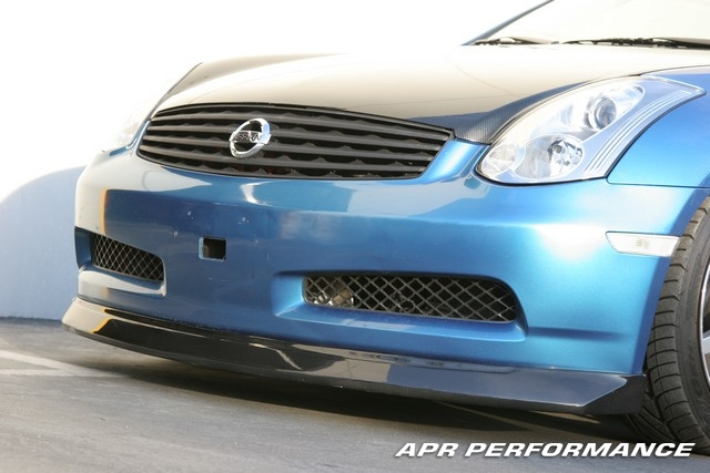 APR Carbon Fiber Front Lip Infiniti G35 03-06 - FA-355006