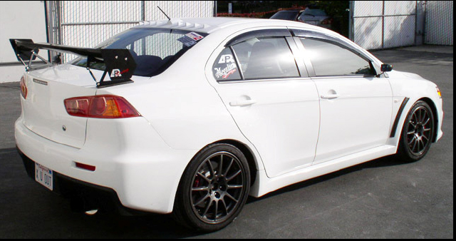 Evo Mitsubishi Price >> APR GTC-200 Adjustable Rear Wing Mitsubishi EVO X 08-12