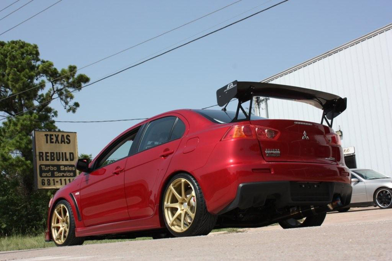 APR GTC-300 Adjustable Carbon Wing Mitsubishi EVO X 08-12 - AS-106140