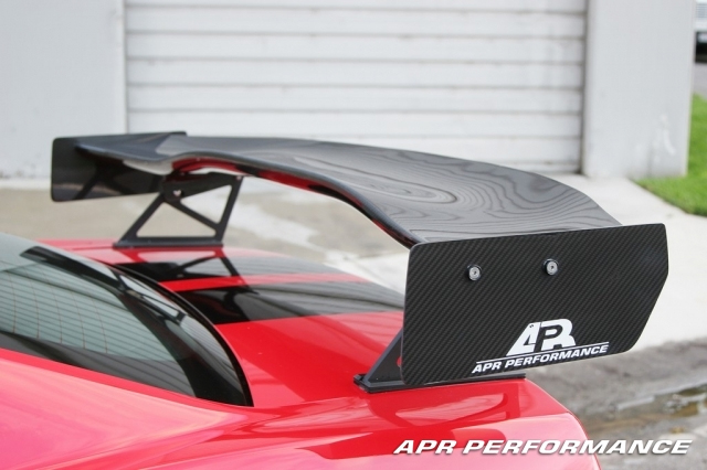 APR GTC500 Rear Wing Ford Mustang S197 05-10 - AS-107029
