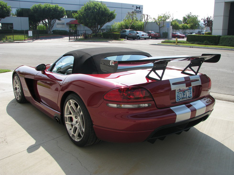 APR GTC-500 Adjustable Carbon Wing Dodge Viper 03-08 - AS-107032