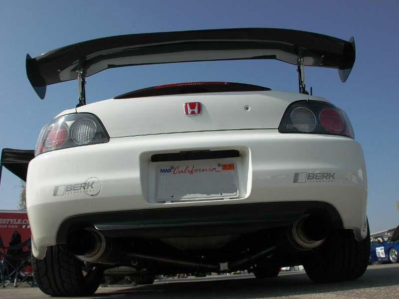 APR GTC-200 Adjustable Carbon Wing Honda S2000 00-07 - AS-105900