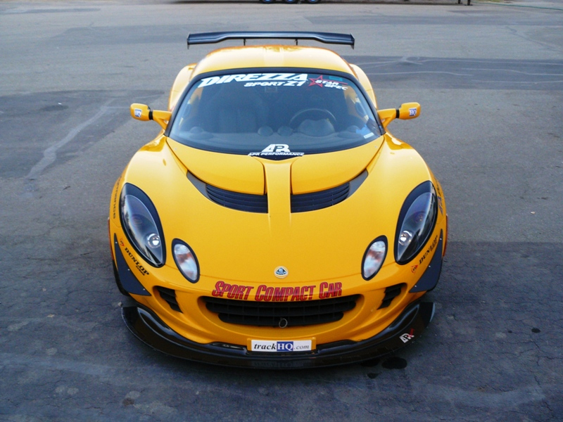 APR GTC200 Rear Wing Lotus Elise 02-12 - AS-105911