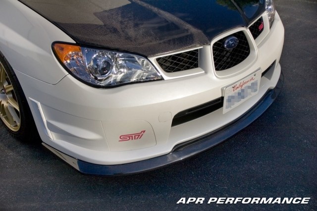 APR Carbon Fiber Front Air Dam Lip Subaru WRX STi 06-07 - FA-896006