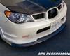Image of APR Carbon Fiber Front Air Dam Lip Subaru WRX STi 06-07
