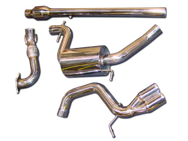 APR Tuned Stainless Steel Turboback Stealth Exhaust Audi A3 2.0T 05-08