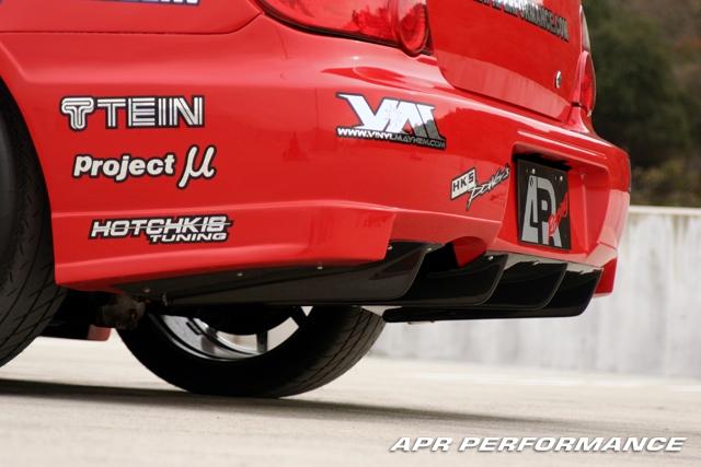 APR FRP Rear Diffuser Subaru WRX STI 02-07 - FAB-820519
