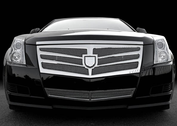 Asanti Classic Mesh Grille Complete Kit Cadillac CTS 07-10 - AG-103700B