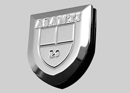 Asanti Verona Large Badge Range Rover 10+