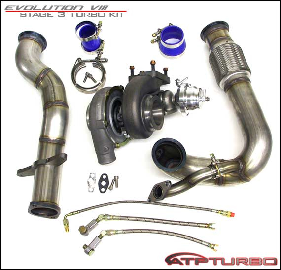 ATP Turbo Stage 3 GT3037S Turbo Upgrade Mitsubishi EVO VIII - ATP-VEVO-005