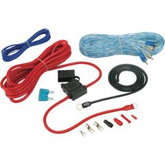 Image of Install Bay 8 Gauge Amp Kit Wrcas Amp Kit W Rcas