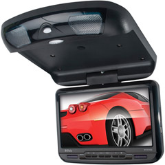 Image of 9in Flip-down Mntr W Built-indvd Player