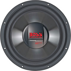 Image of Boss 10in Subwoofer 4-ohm Voicecoils