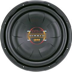 Image of Boss 10in Low Pro Sub 4-ohmvoice Coils 4-ohm Voice Coils