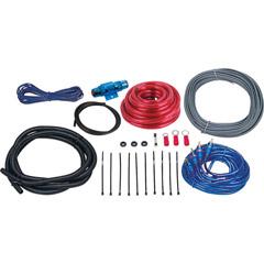 Image of Boss Complete 8 Gauge Ampinstall Kit Amp Install Kit