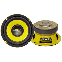 Image of Pyle Gearx 5in W00w Mid Basswoofer Mid Bass Woofer