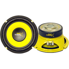 Image of Pyle Gearx 6.5in 300w Mid Basswoofer Mid Bass Woofer
