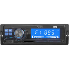 Image of In-dash Amfmusbsdauxmp3receiver W Lcd Digita