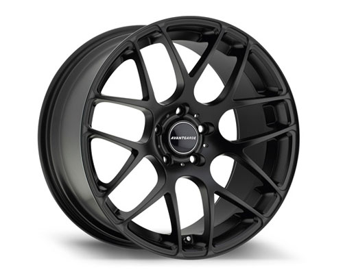 Avant Garde M310 Wheel 20x10 5x112 35mm Matte Black - M310-FB512201035